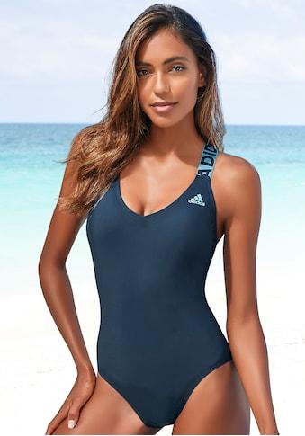 adidas Performance Badeanzug, mit gekreuzten Trägern im Rücken kaufen