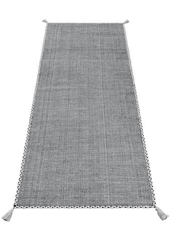 Theko Exklusiv Läufer »Micol«, rechteckig, 3 mm Höhe, Wendeteppich kaufen
