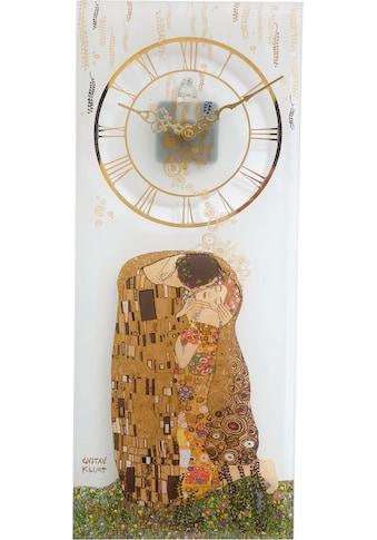 Goebel Wanduhr »Gustav Klimt, Der Kuss, 67000531« kaufen