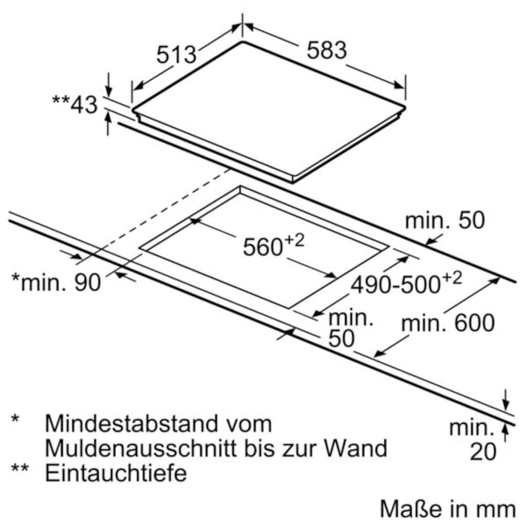 SIEMENS Elektro-Herd-Set »PQ521KB00«