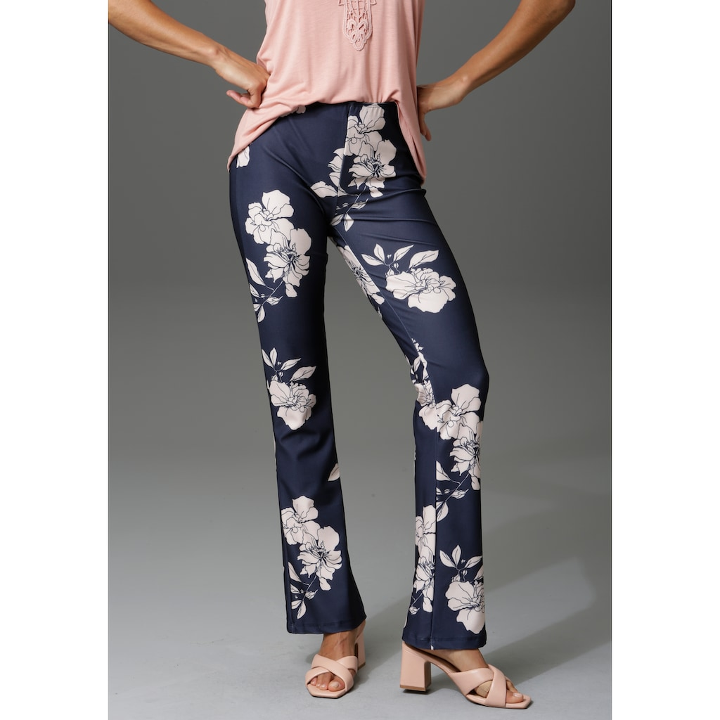 Aniston CASUAL Leggings, bedruckt oder uni - Du hast die Wahl - NEUE KOLLEKTION
