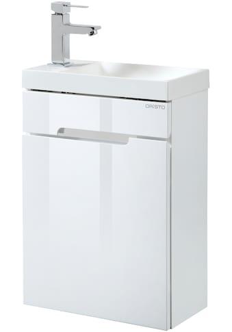Oristo Waschtisch »Silver«, Gästebad, Breite 40 cm kaufen