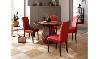 Premium collection by Home affaire Esstisch »Omega«, aus massivem Mangoholz, mit... kaufen