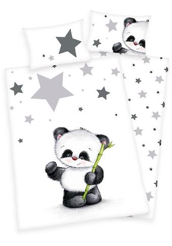 Baby Best Babybettwäsche »Jana Panda«, mit Panda kaufen