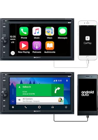 Sony Radio »XAV-AX205ANT«, (Bluetooth Digitalradio (DAB+)-FM-Tuner-AM-Tuner 220 W) kaufen