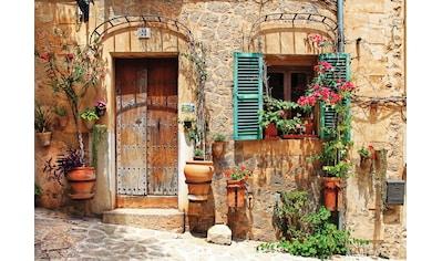 Consalnet Vliestapete »Rustikale Steinfassade«, verschiedene Motivgrößen, für das Büro oder Wohnzimmer kaufen