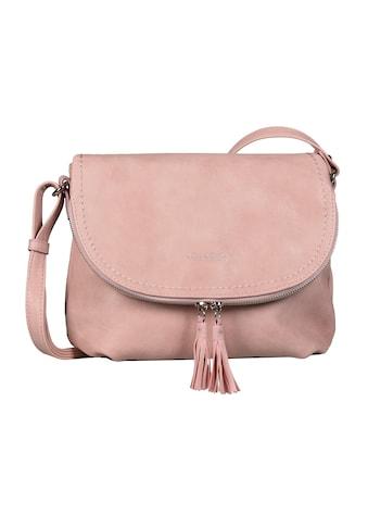 TOM TAILOR Umhängetasche »LARY«, Crossbody Bag mit modischen Quasten am Zipper kaufen