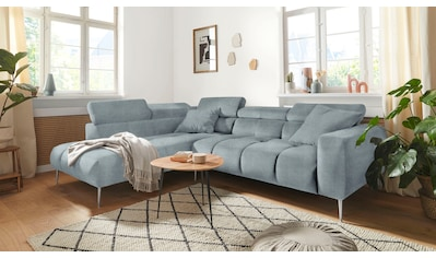 Mr. Couch Ecksofa »Aspen«, 5 Jahre Hersteller-Garantie auf Kaltschaumpolsterung,... kaufen