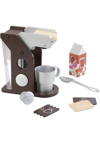 KidKraft® Kinder-Kaffeemaschine »Spielset Kaffee, Espresso«, (10 tlg.), mit Tasse und... kaufen
