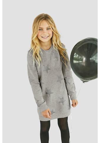 Arizona Sweatkleid, mit Glitzerdruck kaufen