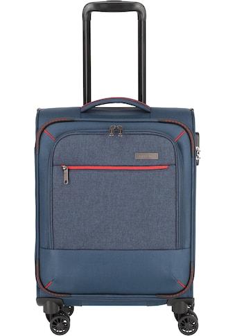 """travelite Weichgepäck - Trolley """"Arona, 55 cm, marine"""", 4 Rollen kaufen"""