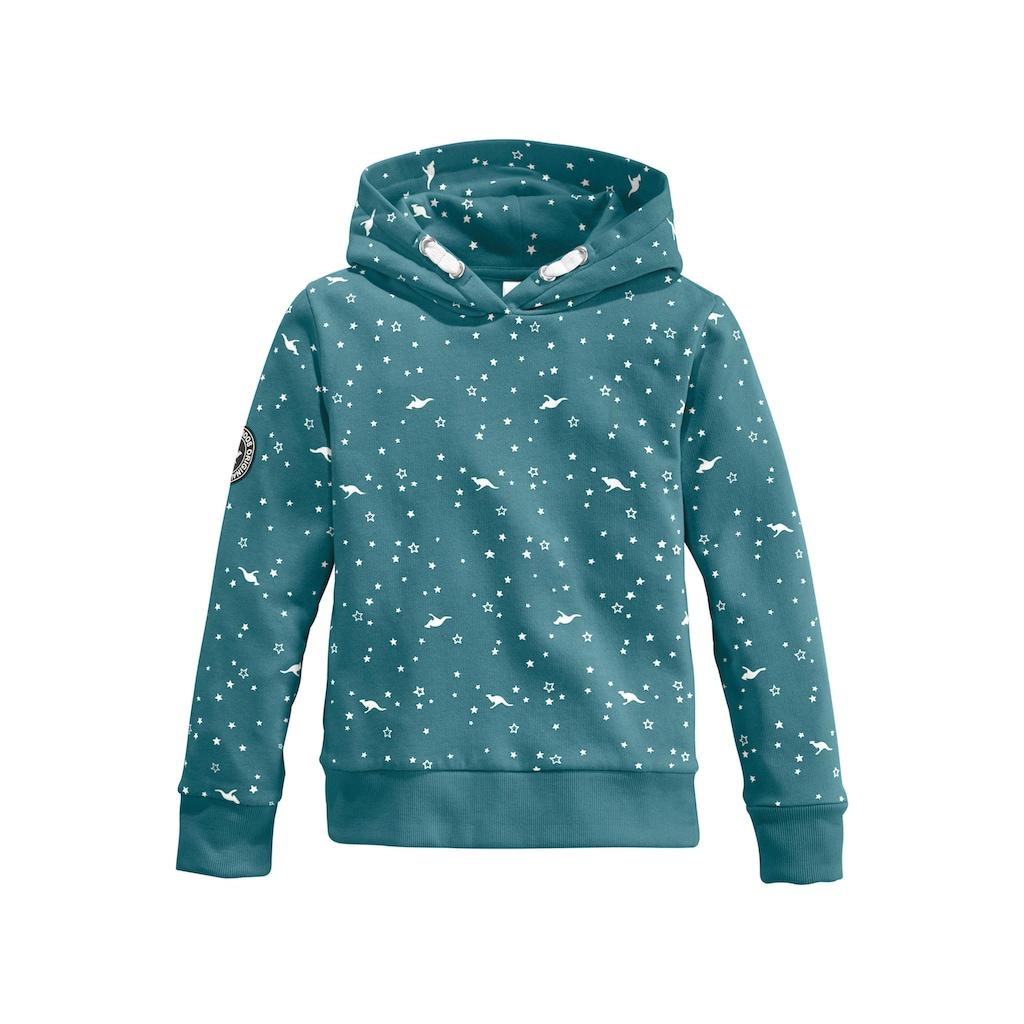 KangaROOS Kapuzensweatshirt, Mit seitlichen Taschen