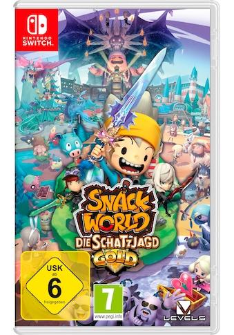Nintendo Switch Spiel »Snack World: Die Schatzjagd - Gold«, Nintendo Switch kaufen