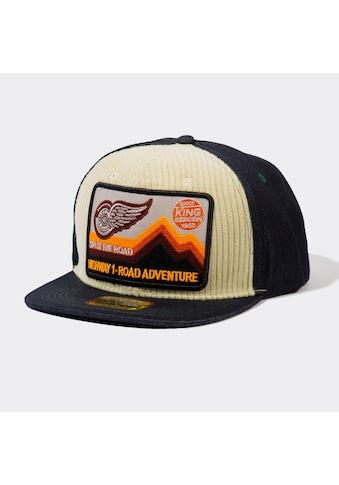 KingKerosin Snapback Cap »Road Adventure«, mit Cord-Front und Patch kaufen