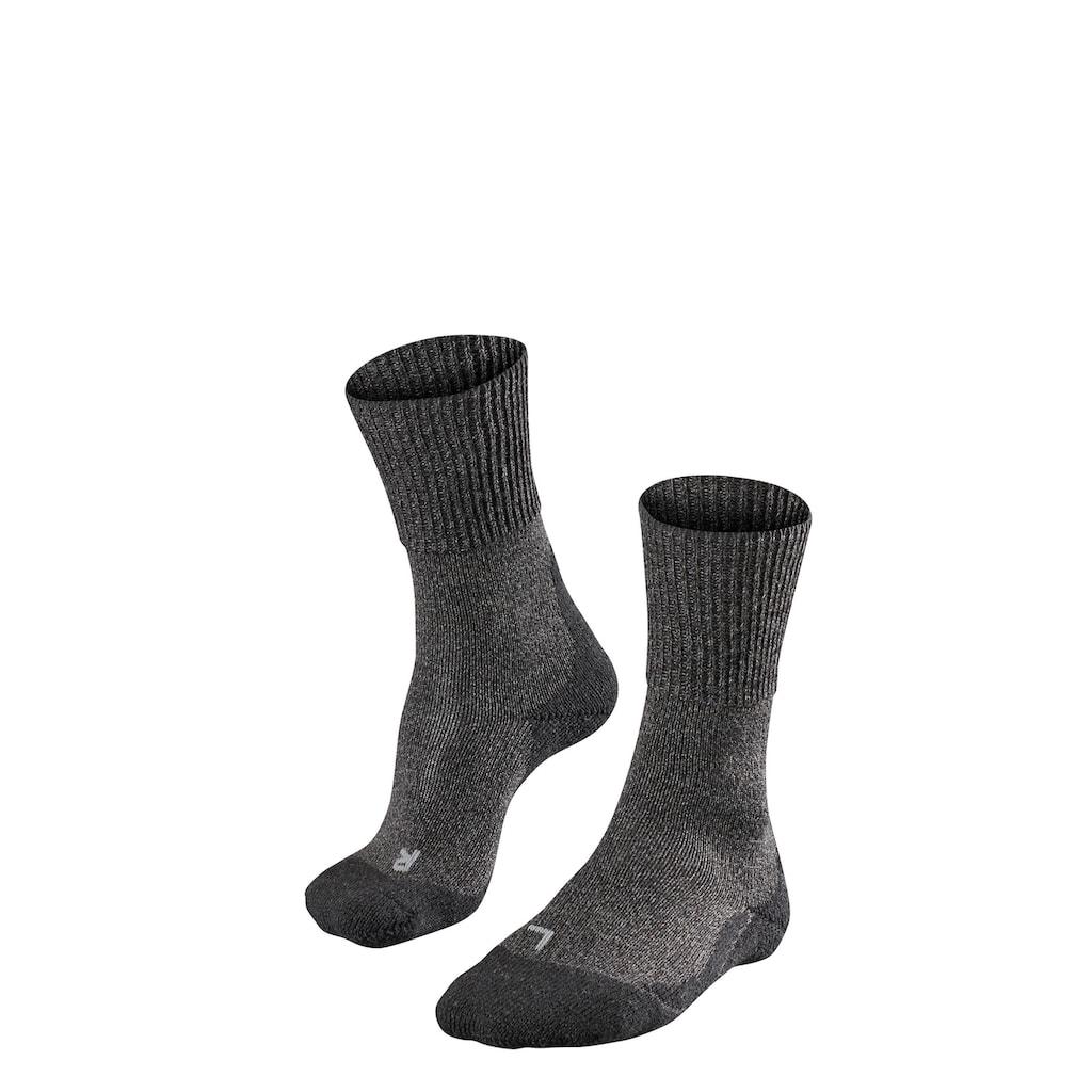 FALKE Wandersocken »TK1 Wool Trekking«, (1 Paar), mit extra starker Polsterung
