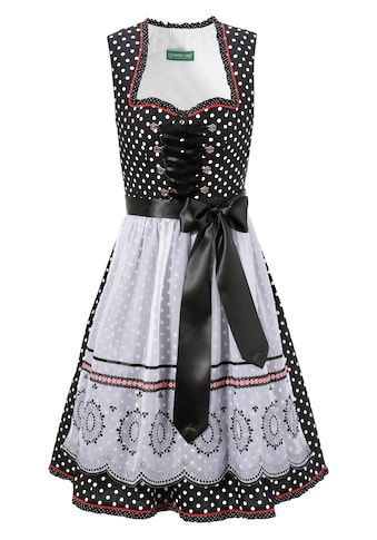 Country Line Dirndl midi im All Over Pünktchen Look kaufen