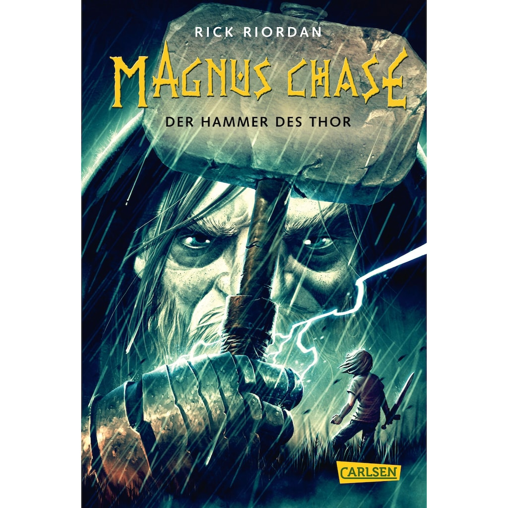 Buch »Magnus Chase 2: Der Hammer des Thor / Rick Riordan, Gabriele Haefs«