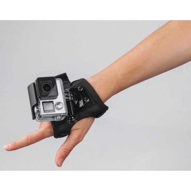 Hama Handhalterung für GoPro Actioncam Größe L größenverstellbar »Handschlaufe Handgelenk Halter«
