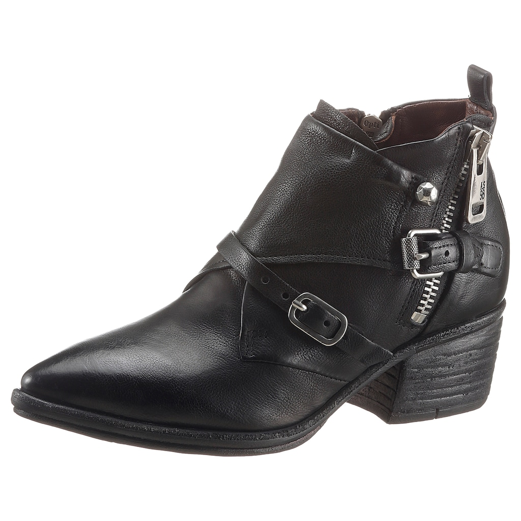 A.S.98 Stiefelette »PARADE«, in angesagter Used Optik