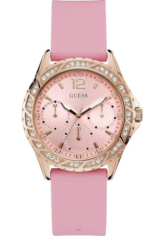 Guess Multifunktionsuhr »SPARKLING PINK, W0032L9« kaufen