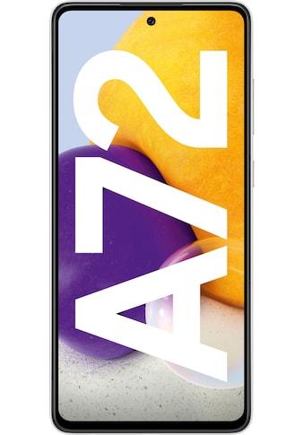 """Samsung Smartphone »Galaxy A72«, (16,95 cm/6,7 """" 128 GB Speicherplatz, 64 MP Kamera), 3 Jahre Garantie kaufen"""