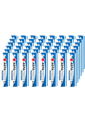 AgfaPhoto Batterie »Batterie Alkaline, Mignon, AA, LR06, 1.5V, Platinum, Karton... kaufen