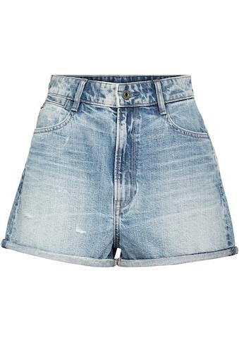 G-Star RAW Jeansshorts »Tedie Ultra High Short«, mit Umschlagsaum am Beinabschluss kaufen