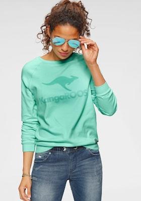 grünes Sweatshirt von Kangaroos