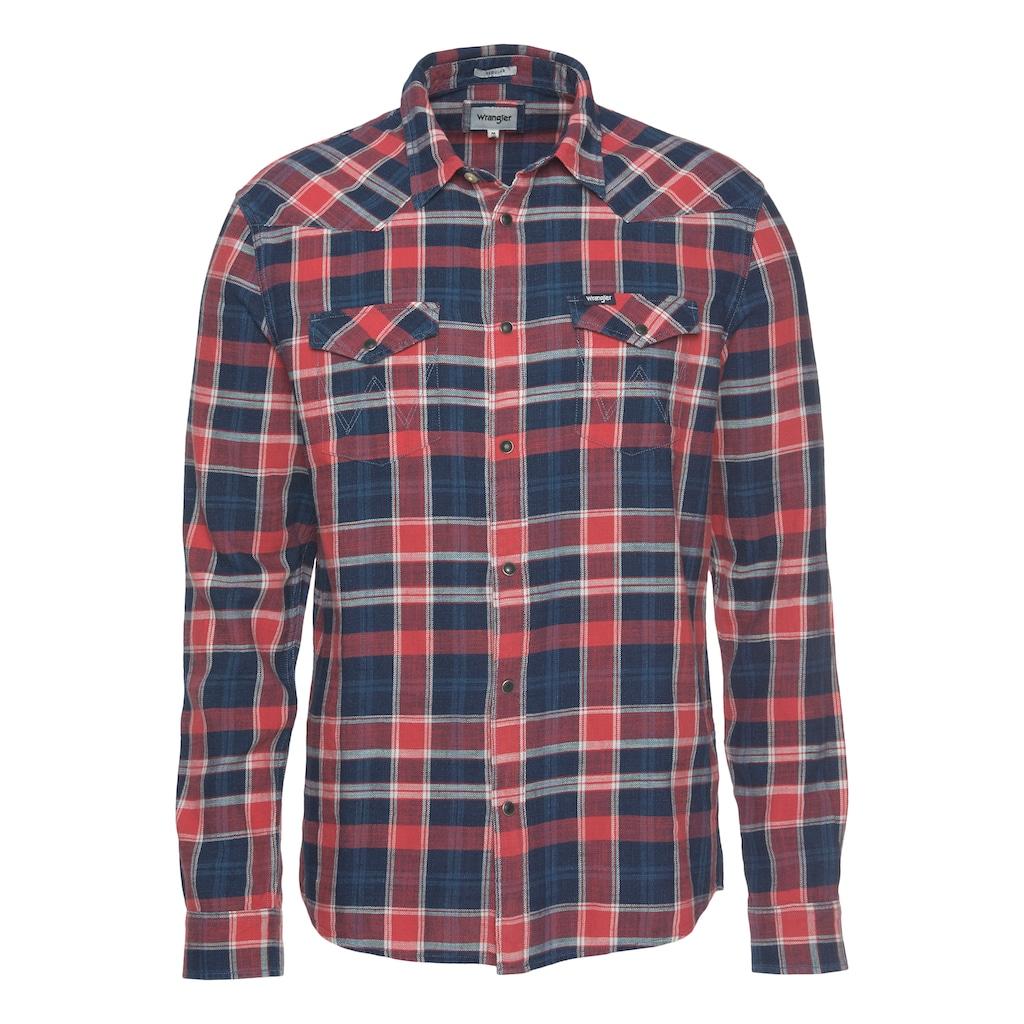 Wrangler Langarmhemd »WESTERN SHIRT«