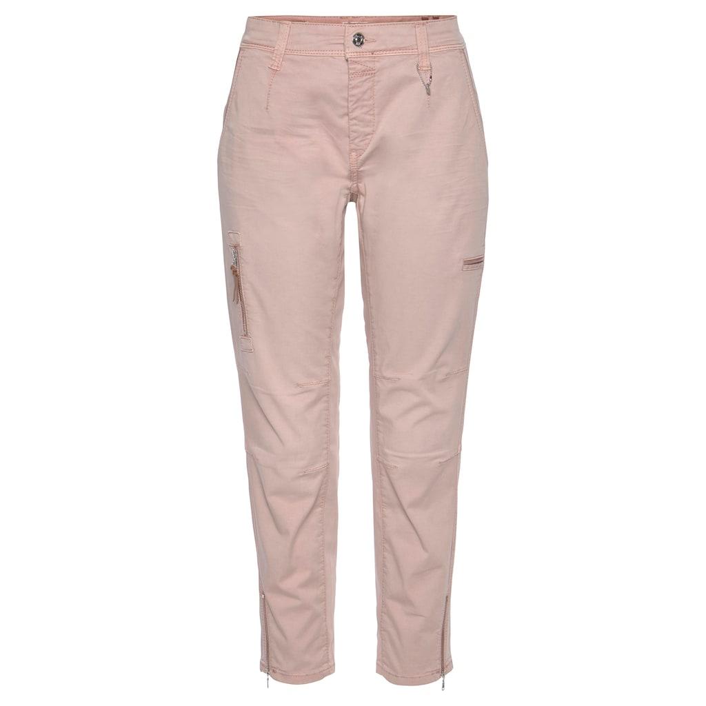 MAC Cargojeans »Rich-Cargo-Cotton«, Hose in typischer Cargo-Form
