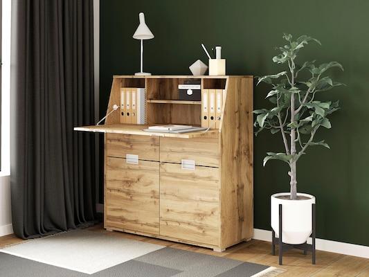 Sekretär aus Holz