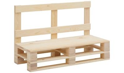 Home affaire Sitzbank »Pinus«, im angesagten Palettendesign kaufen