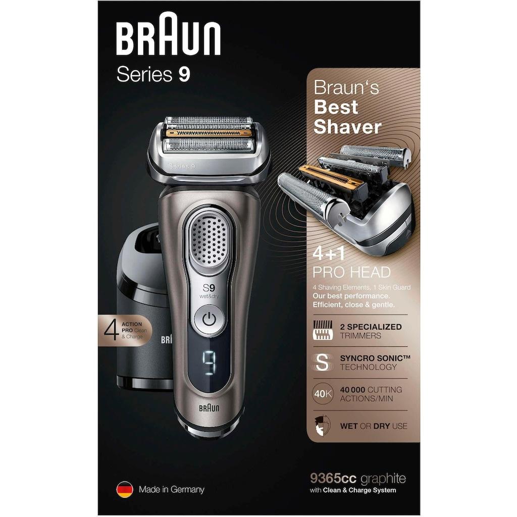 Braun Elektrorasierer »Series 9 9365cc«, mit Reinigungs- und Ladestation