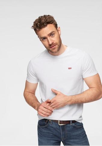 Levi's® T-Shirt »LE SS ORIGINAL HM TEE«, mit Batwing-Logo-Badge kaufen
