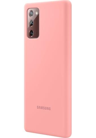 Samsung Handyhülle »Silicone Cover EF-PN980 für Note 20«, Galaxy Note20 kaufen