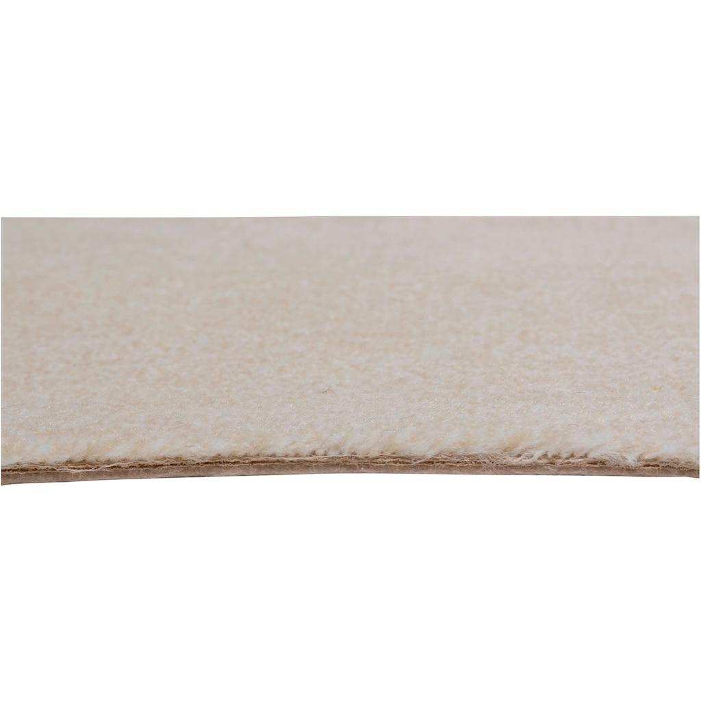 Andiamo Teppichboden »Catania«, rechteckig, 8 mm Höhe, Meterware, Breite 400 cm, uni, Wunschmaßlänge