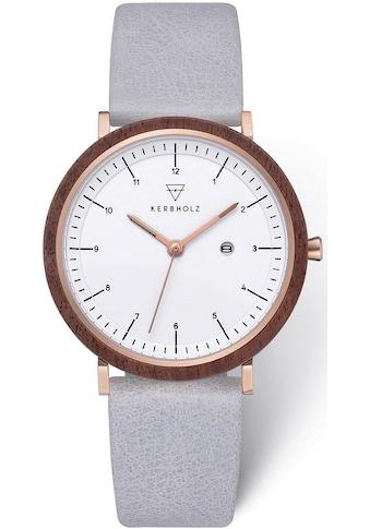 KERBHOLZ Quarzuhr »Amelie Walnut Arctic« kaufen