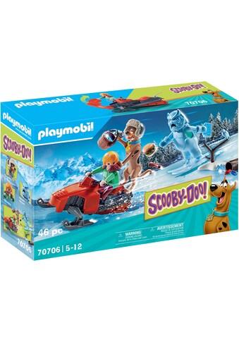 Playmobil® Konstruktions-Spielset »SCOOBY-DOO! Abenteuer mit Snow Ghost (70706),... kaufen