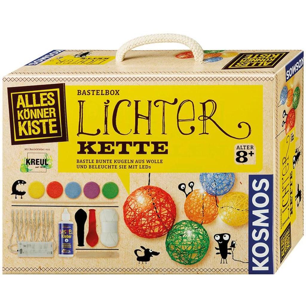 Kosmos Kreativset »AllesKönnerKiste Lichterkette«, (Set), Made in Germany