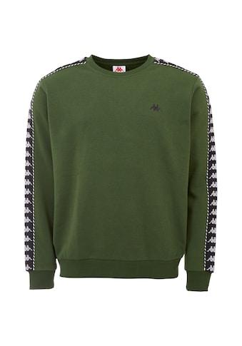 Kappa Sweatshirt »ILDAN«, mit hochwertigem Jacquard Logoband an den &Auml;rmeln<br /> kaufen