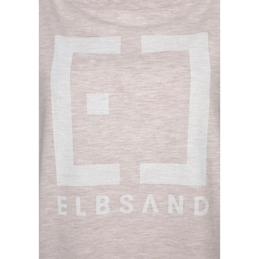 Elbsand Langarmshirt »Ingra«, mit Logoprint