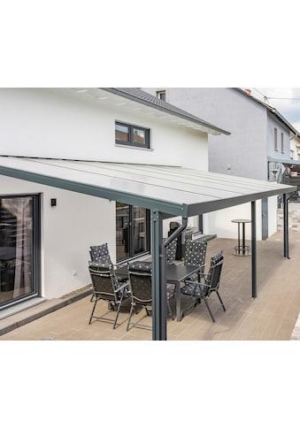 GUTTA Terrassendach »Premium«, BxT: 611x406 cm, Dach Polycarbonat Opal kaufen