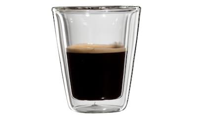 Bloomix Espressoglas »Milano«, (Set, 4 tlg.), Doppelwandig kaufen