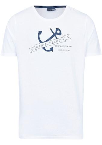 Daniel Hechter T-Shirt, maritimer Print- Aufdruck kaufen