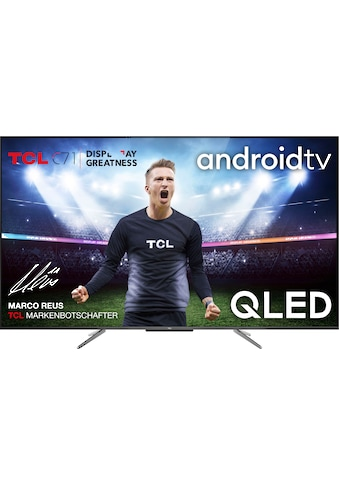 TCL 50C715 QLED - Fernseher (127 cm / (50 Zoll), 4K Ultra HD, Android TV kaufen