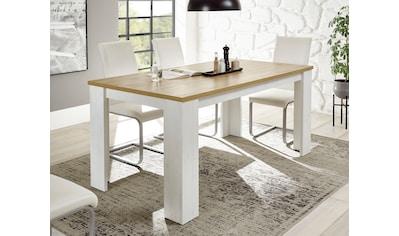 Home affaire Esstisch »ORLANDO«, im romantischen Landhaus-Look kaufen