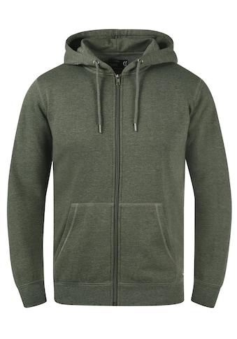 Solid Kapuzensweatjacke »BertiZip«, Sweatshirtjacke mit weicher Fleece-Innenseite kaufen