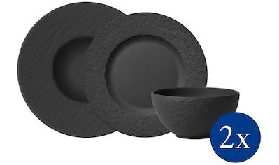 Villeroy & Boch Geschirr-Set »Manufacture Rock Starter«, (Set, 6 tlg.) kaufen