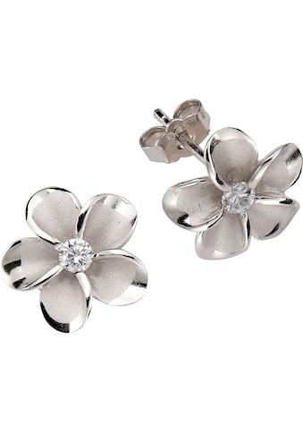 Firetti Paar Ohrstecker »Blume/Blüte«, mit Zirkonia kaufen