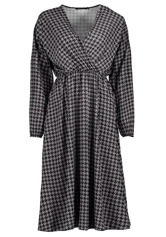 SUBLEVEL A-Linien-Kleid, mit Hahnentrittmuster kaufen